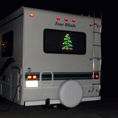 RV Christmas style! Check out hartranchresort.com for the latest in RV camping fun!