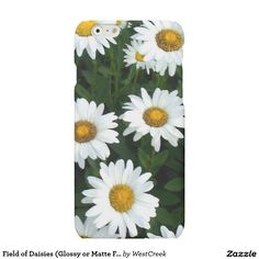 Field of Daisies (Glossy or Matte Finish) Matte iPhone 6 Case