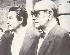 Octavio Paz y Luis Buñuel (I). 1977