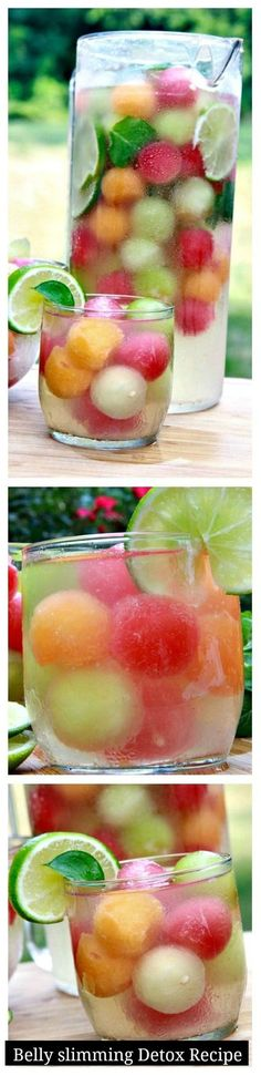 Melon Ball Belly Slimming Detox Water
