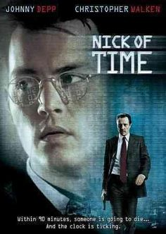In John Badham's NICK OF TIME, Johnny Depp stars as Gene Watson, a mild-mannered, widowed accountant, and the father of six-year-old Lynn (Courtney Chase). While in Los Angeles's Union train station,