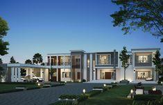 Luxury Homes Exterior, Luxury Homes Dream Houses, Dream House Exterior, House Outside Design, House Front Design, Modern House Design, Beautiful House Plans, Dream House Plans, House Design Pictures