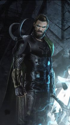 What would happen if you merged Thor with his mischievous brother Loki? Well, this Marvel fan art imagines just that, and it's a bit strange. Marvel Dc Comics, Marvel Avengers, Marvel Comic Universe, Marvel Memes, Marvel Cinematic Universe, Marvel Concept Art, Marvel Fan Art, Loki Thor, Thor Cosplay