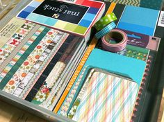 great tips for using your paper stash in project life