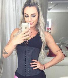 Cinta modeladora feminina Princesa Catarina fitness ref. 25
