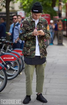 See the latest men's street style photography at FashionBeans. Browse through…