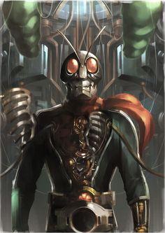 Kamen Rider by kalinng *