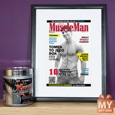 Personalized fake magazine covers from MyGiftDNA. #mygiftdna #cover #magazine #personalised #gift