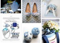 #Blue #Wedding