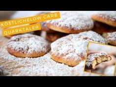 Low Carb Rezept | Diese süßen Low Carb Quarktaler aus dem Ofen mit wenig Kohlenhydraten, sind schnell zubereitet und super lecker. Ideal auch zum Mitnehmen.