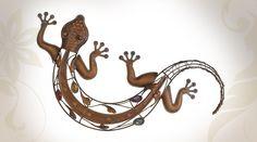 Décoration murale d'extérieur forme salamandre