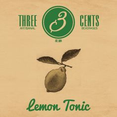#threecents #premiumbeverages #lemontonic #bubbles #bestproduct