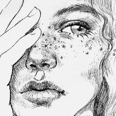 illustration attraverso sketchbook dailyart graphite capisco drawing disegno artwork sketch pencil vedo non ti ma ti vedo ti attraverso ma non ti capisco You can find Art sketchbook and more on our website Pencil Art Drawings, Cool Art Drawings, Doodle Drawings, Art Drawings Sketches, Easy Drawings, Disney Drawings, Drawing Art, Nature Drawing, Woman Drawing