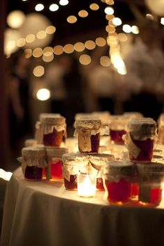 Barn Party Favors, cafe lights