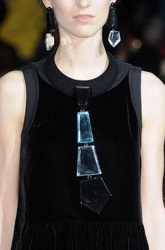 Emporio Armani at Milan Fashion Week Fall 2014 - StyleBistro