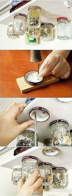 Aquí lo tienes , el mejor invento para utilizar la parte inferior de las lejas XD