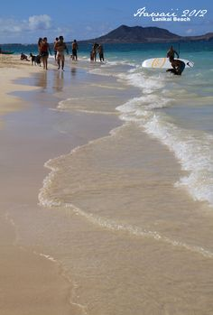 Hawaii Lanikai Beach