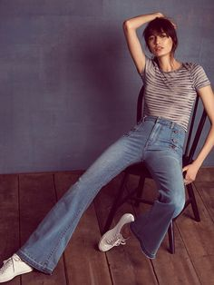 Free People 70's Sailor Flare at Free People Clothing Boutique