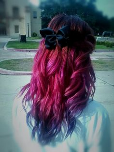 Red, pink and purple hair = mine:D | New Hair Resolution ...
