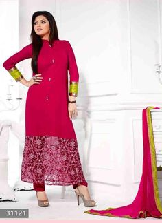 Shop Online for Indian salwar kameez. Choose great collections and designs of salwar kameez Online. Pakistani-Anarkali-Suits from Shoppingover India. Indian Clothes Online, Indian Sarees Online, Churidar Suits, Salwar Kameez, Indian Dresses, Indian Outfits, Saree Sale, Suits For Women
