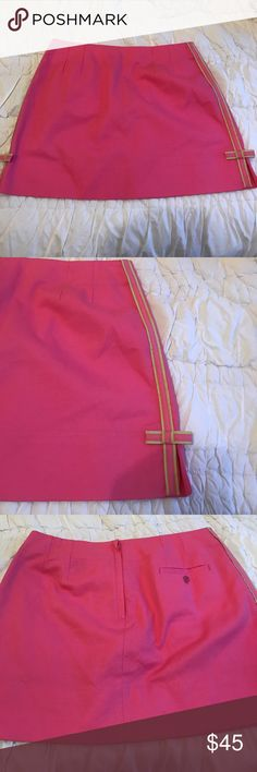 Lilly Pulitzer Skirt 🌸 Brand new condition. Zipper in back. Would be super cute for golf or just a day out. Lilly Pulitzer Skirts