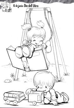 REVISTA FIGURAS MAESTRA JARDINERA - Lorena Ve - Álbuns Web Picasa Coloring Pages For Girls, Colouring Pages, Coloring Books, Dj Inkers, Cartoon Pics, Digi Stamps, Writing Skills, Library Books, Interactive Notebooks