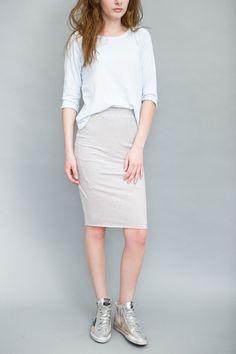 Frank & Eileen Tee Lab Stripe Tube Skirt