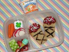 Bento for Kidlet: Ice Cream Lunch #Easylunchboxes