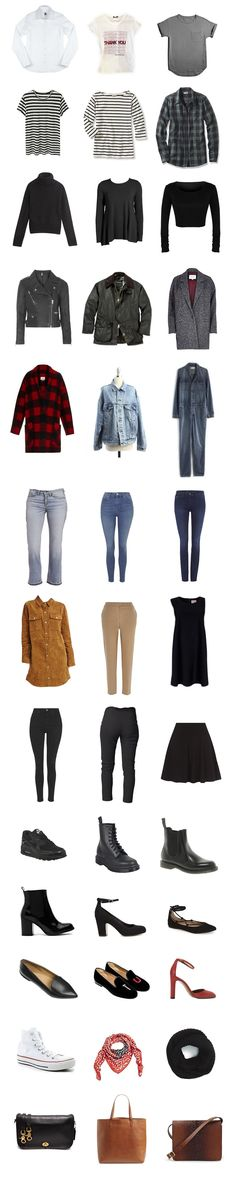 Winter Capsule Wardrobe: Polished Grunge — The Quiet Kind