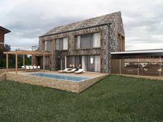 HAUS S+T | AL Architekt Mansions, House Styles, Home Decor, Scandinavian, Scandinavian Architecture, Prefab Cottages, Style At Home, Design Ideas, Interior Design