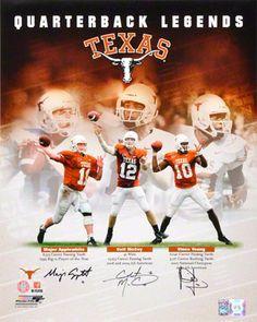 791fdb43c72 Vince Young, Colt McCoy, and Major Applewhite Autographed 16x20 Photograph  | Details: Texas