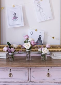 Girly+Pink+Dresser