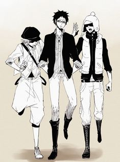 Penguin, Shachi and Law