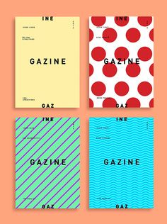 Gazine Publication 2013 on Behance