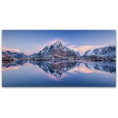 Trademark Fine Art 'Mountain Glow' Canvas Art by Michael Blanchette Photography, Assorted
