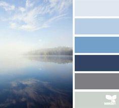 Misty blues!