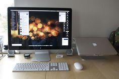 Soft visual white noise, high definition LED TV, Wedgwood, Seattle, Washington, USA 0448 by Wonderlane