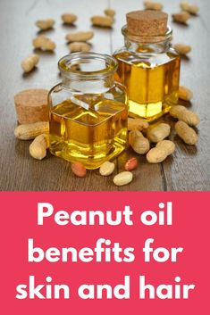 Peanut oil benefits for skin and hair peanut oil - List of benefits of this oil for skin, hair and overall health. Precautions to take while using peanut oil on your skin and hair Face Skin Care, Diy Skin Care, Sweet Peanuts, Power Smoothie, Peanut Oil, Oil Benefits, Oil Uses, Oils For Skin, Hair Oil