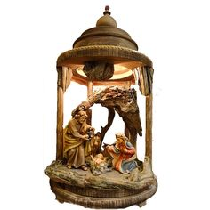 Beautifully handcrafted from massive wood and hand painted with oil paints. Available in Color or Natur Version in various sizes. Listed sizes are sizes of standing Nativity figurines. Christmas Lanterns, Christmas Nativity, Catholic Gifts, Religious Gifts, Wooden Lanterns, Wood Art, Snow Globes, Hand Painted, Oil