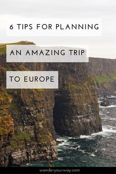 Are you overwhelmed and stressed as you plan that trip to Europe? Don't be. Here are 6 great tips to help you plan that trip you've been dreaming of. Click through to find out more.