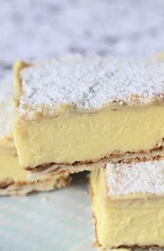 Low FODMAP Recipe and Gluten Free Recipe - Vanilla custard slices Gluten Free Cakes, Gluten Free Desserts, Dairy Free Recipes, Baking Recipes, Bread Recipes, Fodmap Dessert Recipe, Fodmap Recipes, Dessert Recipes, Pudding Recipes