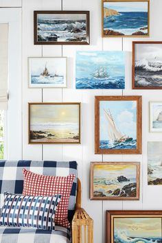 Seascape Paintings   - CountryLiving.com