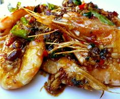 3 hungry tummies: Golden Fragrant Prawns 金香蝦碌