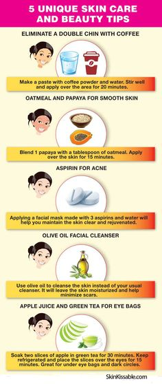 These beauty tips are great to boost your skin and other body areas. Try them! #tips #natural #homemade