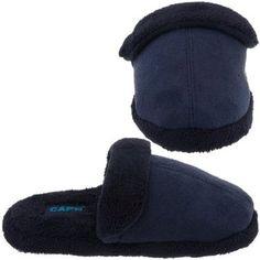 Capelli New York Scuff With Microcozy Lining Cuff Sock Boys Indoor Slipper Boys Small Capelli New York. $6.99