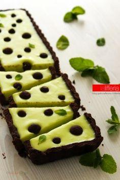 Crostata alla menta e cioccolato