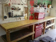 While my old workbench's used to be setup to my liking, as most garage enthusiast knows there is always room for improvement. My current setup was not efficient and wasted much needed space. Which is why I decided to remodel my workbench to maximize my space hopefully this can give some insight and ideas for your own workbench.