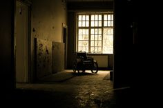 Lier Mental Hospital - Old Wheel Chair