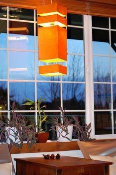 How To: Make a $1 Japanese Lantern #DIY #Craft #Lantern #Japanese #Decor #Lighting #Orange