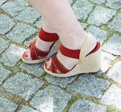 Glória ortiz, sandálias, sandals, red, vermelho, rojo
